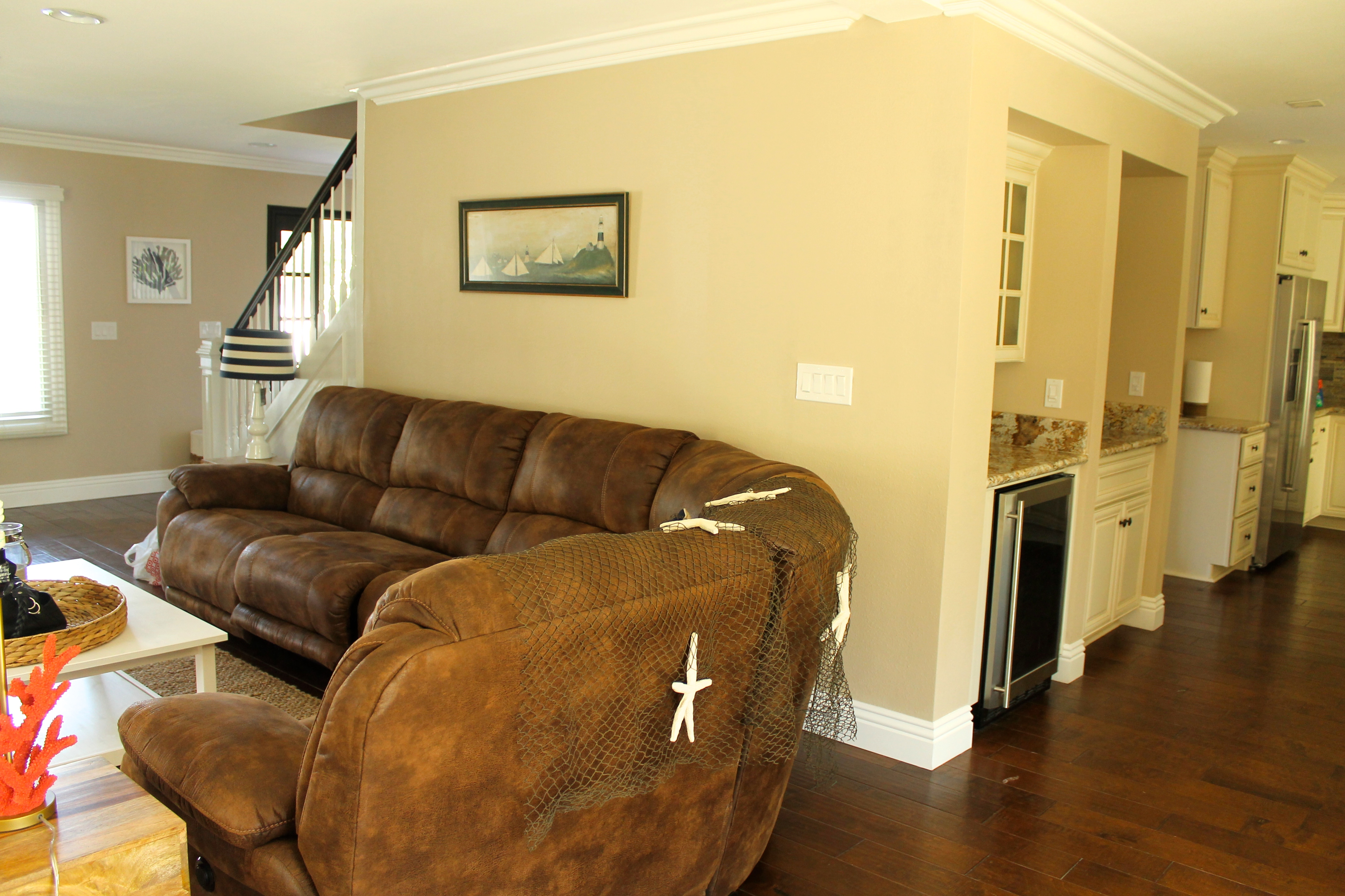 photos of one of our sober living homes in newport beach california
